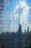 De muur van het glas van mooie buildi Stock Fotografie