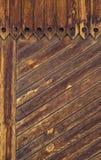 De muur van het hout Stock Foto's