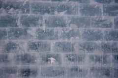 De muur van het ijs stock fotografie