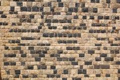 De muur van het kasteel Royalty-vrije Stock Afbeeldingen