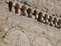 De muur van het kasteel Royalty-vrije Stock Fotografie