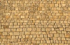 De Muur van het kasteel Stock Foto's