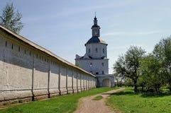 De Muur van het klooster Stock Foto's