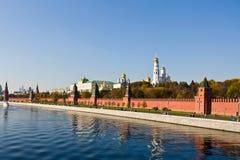 De muur van het Kremlin Stock Fotografie