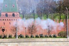 De muur van het Kremlin Stock Afbeelding