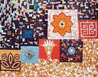 De muur van het mozaïek Royalty-vrije Stock Afbeeldingen