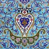 De muur van het mozaïek Royalty-vrije Stock Foto