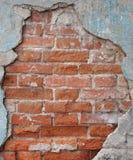 De muur van het oude huis Royalty-vrije Stock Foto's