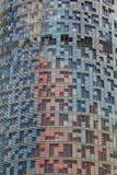 De muur van het patroon. Stock Afbeelding