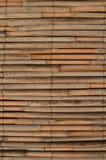 De muur van het rietbed Stock Afbeelding