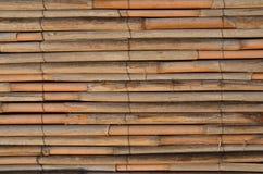 De muur van het rietbed Stock Foto
