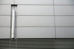 De muur van het staal Stock Fotografie