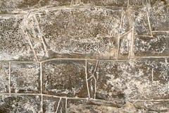 De muur van het steenmetselwerk Stock Afbeeldingen