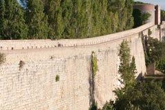De muur van het vestingwerk Royalty-vrije Stock Fotografie