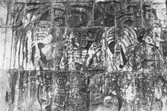 De muur van Itza van Chichen Royalty-vrije Stock Afbeeldingen