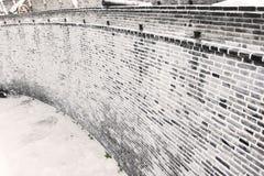 De muur van Ming Stock Foto's
