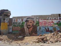 De muur van Qalandia royalty-vrije stock afbeeldingen