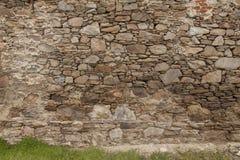 De muur van rotsstenen Stock Foto