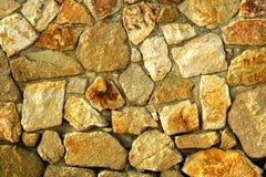 De muur van stenen Stock Foto