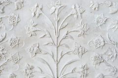 De muur van Taj Royalty-vrije Stock Fotografie
