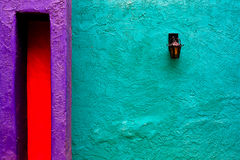 De muur van Tucson Stock Afbeeldingen