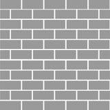 De muurachtergrond van de baksteensteen Grijze kleurentextuur Rechthoekvorm Vlak Ontwerp Stock Foto