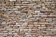 De muurachtergrond van de steen Stock Fotografie