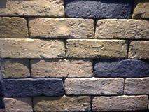 De muurachtergrond van het zandsteen Royalty-vrije Stock Afbeelding
