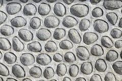 De muurachtergrond van rivierstenen royalty-vrije stock afbeeldingen
