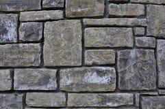 De muurachtergrond van de steen royalty-vrije stock fotografie