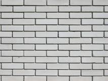 De muurachtergrond van witte bakstenen Royalty-vrije Stock Foto