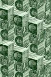 De muurconcept van het geld royalty-vrije illustratie