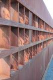 De muurgedenkteken van Berlijn Stock Foto's