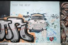 De muurgraffiti van Berlijn royalty-vrije stock afbeelding