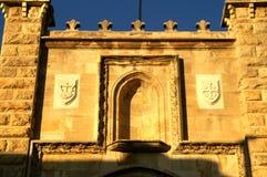 De muurpoort van Jeruzalem stock foto