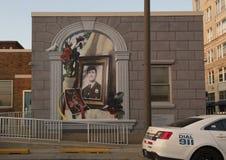De muurschildering van Daniel ` Danny ` Faulkner door Jon Laidacker, Philadelphia, Pennsylvania Royalty-vrije Stock Foto's