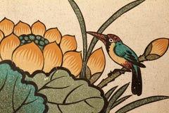 De muurschildering van de foto Stock Fotografie