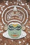 De muurschildering van Kathakali Stock Foto's