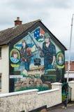 De muurschilderingen van Belfast Stock Foto