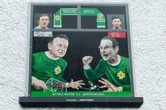 De muurschilderingen van Belfast Royalty-vrije Stock Fotografie