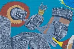 De Muurschilderingen van Las Vegas Royalty-vrije Stock Foto's