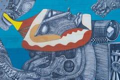 De Muurschilderingen van Las Vegas Royalty-vrije Stock Fotografie