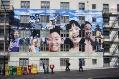 De muurschilderingen van San Francisco Stock Foto