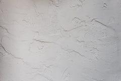 De muurtextuur van de gipspleister Stock Foto