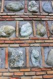 De muurtextuur van de steen Stock Fotografie