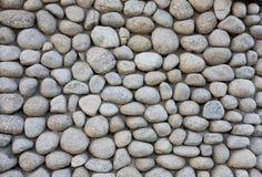De muurtextuur van de steen van rivier Stock Foto
