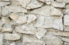 De muurtextuur van het kalksteen Royalty-vrije Stock Fotografie