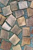 De muurtextuur van het mozaïek Stock Afbeeldingen