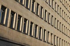De muurtextuur van het venster Stock Fotografie