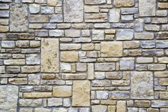De muurtextuur van de steen Royalty-vrije Stock Fotografie